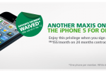 Maxis One Club iPhone 5