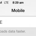 Celcom LTE iOS 7